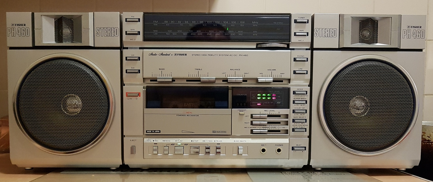 Fisher PH-460LG Compo System - May 2017 (17).jpg
